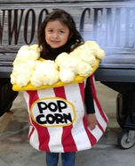 Bag of Pop Corn Homemade Costume