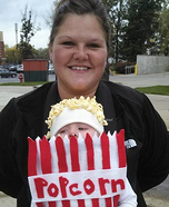 Bag of Popcorn Baby Costume