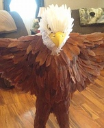 Homemade Bald Eagle Costume