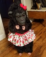 Ballerina Gorilla Homemade Costume