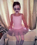 Ballet Zombie Girl Homemade Costume