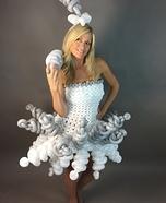 Balloon Dress Homemade Costume