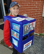 Ballot Box Homemade Costume