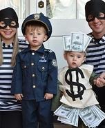 Bank Robbery Homemade Costume