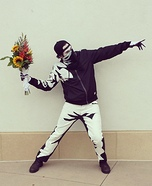 Banksy's Flower Thrower Homemade Costume
