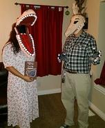 Barbara and Adam Maitland Homemade Costume