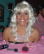 Homemade Barbie Costume