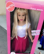 Barbie Homemade Costume