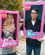 Barbie and Ken Dolls Homemade Costume