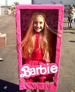 Barbie in a Box Homemade Costume