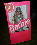Barbie in her Box Homemade Costume