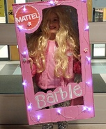 Barbie in the Box Homemade Costume