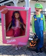 Barbie Mermaid in a Box Homemade Costume