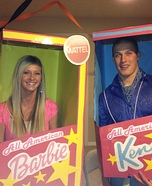 Barbie & Ken Couple's Halloween Costume