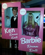 Barbie & Ken Dream Dates Homemade Costume