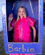 Halloween costume ideas for girls: Barbie in a Box Costume for Girls