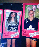 Limited Edition Barbies Group Homemade Costume