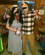 Barbra and Adam Maitland Homemade Costume