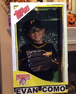 Baseball Card Halloween Costume
