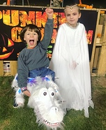 Bastian, Falkor & Moonchild Homemade Costume