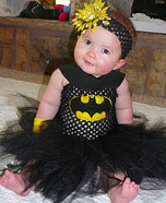 Cutest Halloween costumes for babies - Homemade Bat-Baby Costume