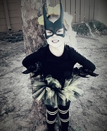 Batgirl Homemade Costume