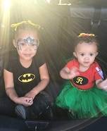 Batgirl and Robin Homemade Costume