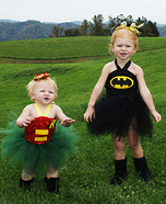 Batgirl and Robin Costumes