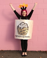 Bath & Body Works Candle Homemade Costume