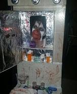 Bathroom Vanity Horror Scene Homemade Costume