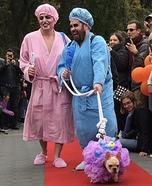 Bathtime Betties and Lil' Loofah Homemade Costume