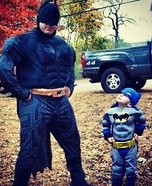 Batman and Batboy Costumes