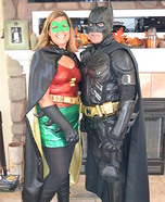 Couple's Batman and Robin Costume
