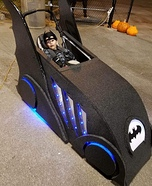 Batman and The Batmobile Homemade Costume