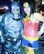 Batman and Wonder Women Homemade Costume