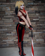 Batman Arkham City Harley Quinn Homemade Costume