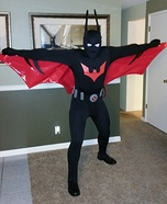 Batman Beyond Homemade Costume