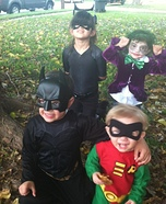 Batman, Catwomen, Robin and Joker Costume