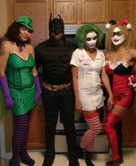 Batman Crew Homemade Costume