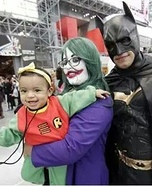 Batman Family Homemade Costume