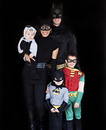 Batman Family Costume Idea