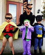 Batman, Friends and Enemies Costume