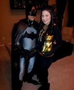 Batman & Catwoman Homemade Costume