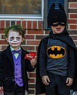 Batman & Joker Homemade Costume