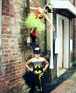 Girly Batman & Robin Costume