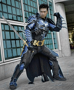 Batman Play Arts Kai Homemade Costume