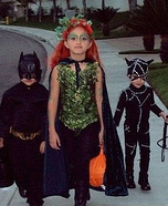 Batman, Poison Ivy & Catwoman Homemade Costume