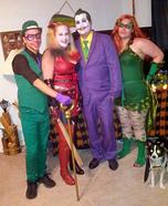 Batman Villains Group Costume