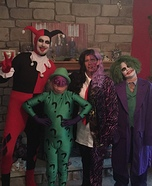 Batman Villains Family Homemade Costume