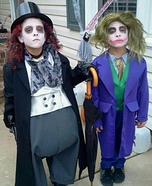 Batman Villains Penguin & Joker Homemade Costumes